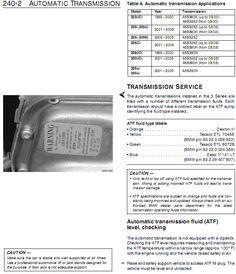 BMW E46 330CI Auto Transmission Change