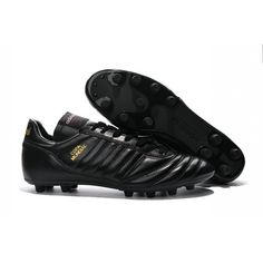 buy popular e23b8 afab6 Adidas Copa Mundial FG Blackout Crafted with a premium K-Leather upper and  additional leather on the heel to improve durability and stability, this  limited ...