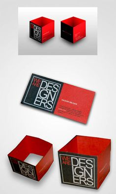 Red Business Card Designs