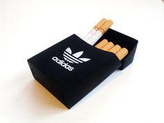 Ultra Rare Adidas Silicon Cigarette Case