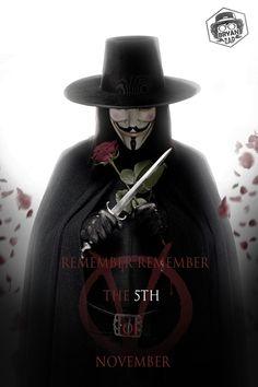 V For Vendetta by Bryanzap on DeviantArt V For Vendetta Tattoo, V Vendetta, V For Vendetta Wallpapers, Movie V, Comics Universe, The 5th Of November, Dark Horse, Steven Universe, Short Stories