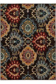 Naomi Area Rug - Synthetic Rugs - Patterned Rugs - Transitional Rugs - Machine-made Rugs | HomeDecorators.com