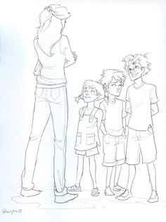 Potter Kids by burdge-bug.deviantart.com on @deviantART. Ginny probably regretted naming a kid after James AND Sirius