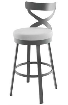 Idée relooking cuisine NEW Lincoln model Modern Kitchen Stool by Amisco now found at www.palason.ca L