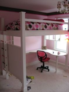 I think we might build something like this for Zoe....it's more budget friendly and we can decorate it anyway we want!