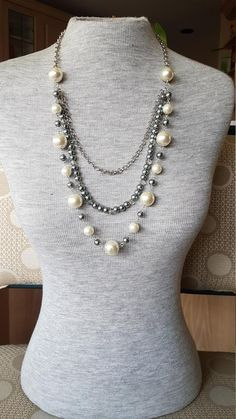 Long Pearl Necklace, Opera Length Necklace, Rope Pearl Necklace, Pearl Necklace, Crystal Pearl Necklace – The World Long Pearl Necklaces, Pearl Jewelry, Beaded Jewelry, Fine Jewelry, Handmade Jewelry, Jewelry Necklaces, Jewellery, Pearl Bracelets, Pearl Rings