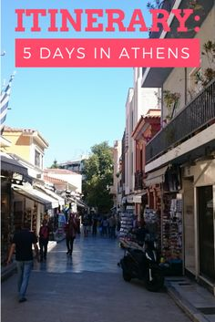 Itinerary: 5 Days in Athens | LooknWalk Greece