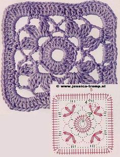 Variety of Granny Squares