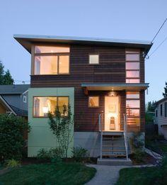 modern exterior by Jim Burton Architects