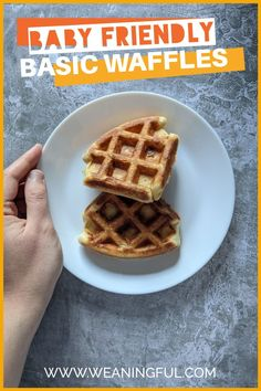 The only waffles recipe you will ever need for your baby, toddler or older kid. Easy, quick and customizable, even for picky eaters who hate veggies. You will get plenty of waffle ideas that are healthy and nutritious even from 6 months and up.