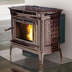 Pellet Stove Fireplace Design Heating And Cooling