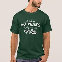 60th Birthday shirt for men | Golf joke