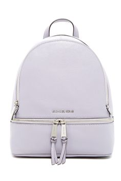 Loving this downtown-chic appeal of a classic compact backpack.