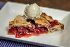 Sour Cherries from Michigan are a revelation, to those who've never tasted them before. In this post, I teach you how to make The Best Homemade Cherry pie, and my recipe uses frozen sour cherries from Michigan. #cherries #cherrypie #recipe #sourcherries #frozensourcherries Tart Cherry Pies, Sour Cherry Pie, Homemade Cherry Pies, Homemade Pie, Fresh Peach Pie, Pastry Shells, Frozen Cherries, Michigan Cherries, Summer Desserts
