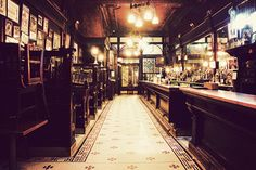 A New York Old Town Bar its customers including Frank McCourt, Seamus Heaney, Nick Hornby and Billy Collins.