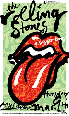 Rolling Stones - Captivating Concert Tour Posters