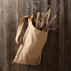 A Bag for Kindling Gardenista