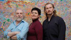 Strontium'90 Art Group^ Ven Goleiko, Tatiana Chebrova and Alex Breus