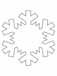 Malvorlagen Schneeflocke  Ausmalbilder 3