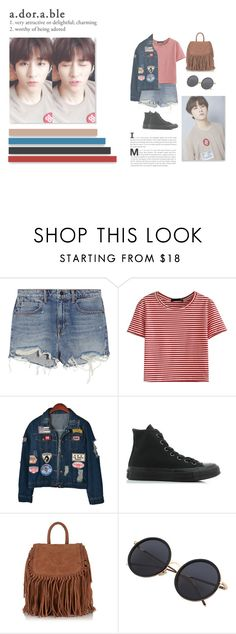 """""""[MONSTA X] I.M ∙ IM CHANGKYUN"""" by moontaeils ❤ liked on Polyvore featuring Alexander Wang, WithChic, Chicnova Fashion, Converse and Superdry"""