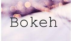bokeh tutorial #photography