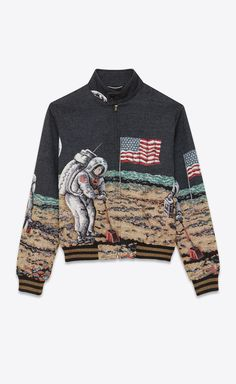 eb50324b61 YSL Astronaut Moon Jacket 2000s Fashion