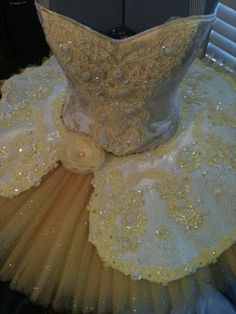 Belle tutu for Beauty and the Beast, I think