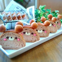 Japanese Bear Bread