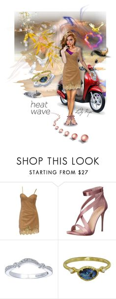 """""""Heat Wave 💋"""" by papillon-ze-cat ❤ liked on Polyvore featuring Vince Camuto, Yasuko Azuma, love, heatwave and artandexpression"""