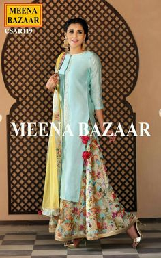 Shop Matsya - Pista green lehenga set with embroidery Latest Collection Available at Aza Fashions Salwar Designs, Blouse Designs, Indian Attire, Indian Wear, Pakistani Outfits, Indian Outfits, Kurta Patterns, Designer Sarees Online Shopping, Look Short