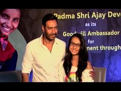 Ajay Devgn With Daughter Nysa Devgn Full Speech | promote Smile Foundation
