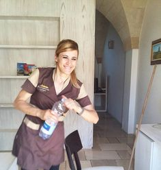 Loredana, our smiling housekeeper! #staff #lovemyjob #masseriacordadilana #hotelstaff http://masseriacordadilana.it/