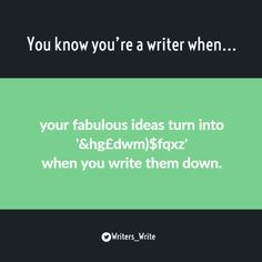 """amandaonwriting: """" You know you're a writer when… """" Relatable = 💯 Writing Help, Writing A Book, Writing Prompts, Writing Humor, Grammar Humor, Grammar And Vocabulary, Writing Problems, A Writer's Life, Natural Parenting"""