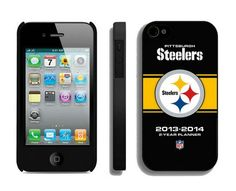 NFL Pittsburgh Steelers IPhone 4/4S Case_2! Only $5.50USD