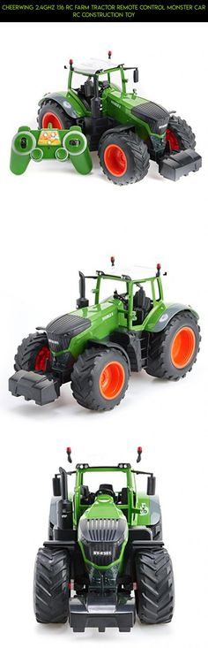 Cheerwing 2.4Ghz 1:16 RC Farm Tractor Remote Control Monster Car RC Construction Toy #plans #rc #tech #parts #gadgets #car #cheerwing #kit #technology #products #camera #fpv #drone #racing #shopping