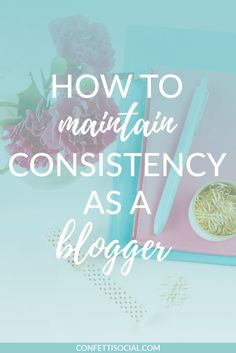 Maintaining consistency as a blogger is totally key. Make sure you check out this post and get your FREE content calendar.