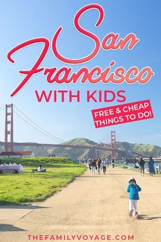 San Francisco with kids: free and cheap - The Family Voyage - Free things to do in San Francisco with kids Usa Travel Guide, Budget Travel, Travel Usa, Travel Tips, Travel Europe, Travel Packing, Travel Ideas, San Francisco With Kids, San Francisco Travel