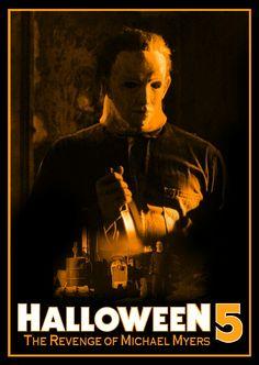 Halloween The Revenge Of Michael Myers Best Horror Movies, Horror Show, Horror Films, Scary Movies, Real Horror, Horror Masks, Horror Icons, Horror Art, Halloween Film