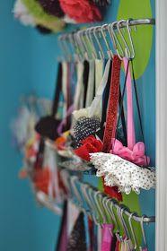 Our Little Miracles: Headband Display • Toddler Headband Storage • IKEA Hack
