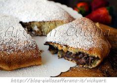 Focaccia dolce veloce in padella con nutella vickyart arte in cucina