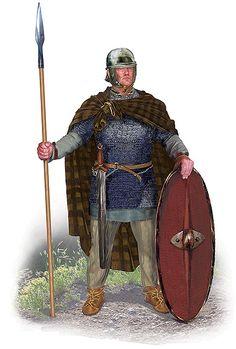 Celtic Warrior mercenary in the Bosphorus, 1st. c. BC