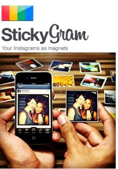 Instagram Magnets.