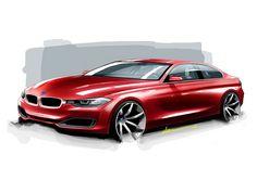 BMW 3 Series sketch