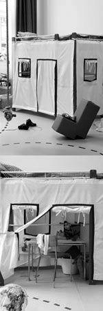 Een hoogslaper heeft fijn veel ruimte onder het bed, Bijvoorbeeld voor je kind om te spelen.