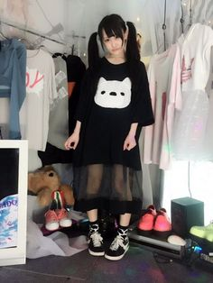 Harajuku Fashion, Japan Fashion, Kawaii Fashion, Punk Fashion, Grunge Fashion, Fashion Outfits, Visual Kei, Soft Grunge Hair, Instagram Outfits