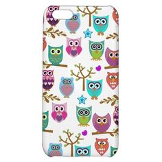 happy owls for the new iPhone 5C covers