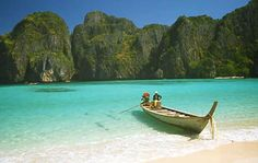 Maya Bay - Thailand. This beach is famous for the film 'The Beach' and is a must to see when travelling to Thailand