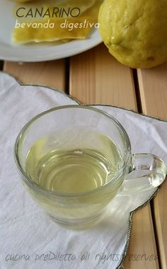 Canarino, bevanda digestiva