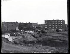 Amsterdam Avenue and West 100th Street, New York City, 1894. | islandora