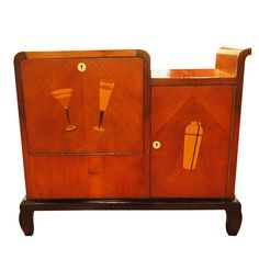 Wish list for entertaining. So fabulous! French Art Deco Bar, c.1930-1935